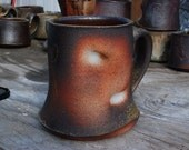 Wood fired stoneware bear stein