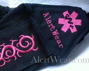 Custom Latex-Free Medicine Case - Waist Pack - Fanny Pack by Alert Wear