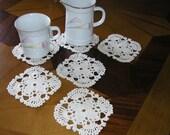Crochet Coasters-set of 6