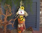 Happy Fall Scarecrow, fall decor,  home decor