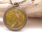 To Be Free Photo Pendant Necklace