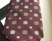Vintage Brown ParExcellence Men's Neck Tie