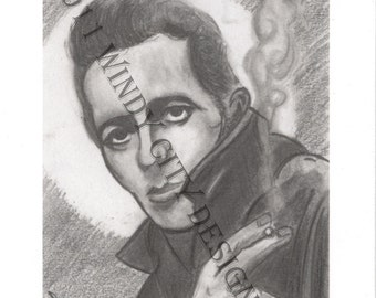 "Joe Strummer - The Clash - ""Saint Joe"" Print"