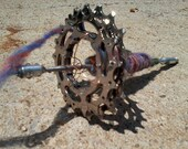Cyclist Drop Spindle