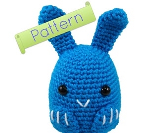 PATTERN: Bunny Rabbit Crochet Amigurumi