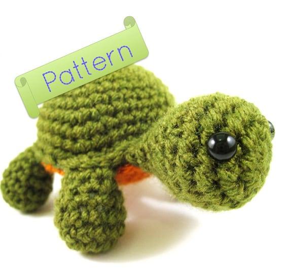 Amigurumi Turtle Crochet Patterns : Amigurumi turtle pattern