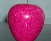 Red Marble Apple Paperweight