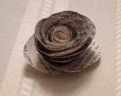Paper Flower Rosettes - Set of 10
