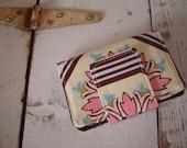 Ginger Tiles Mini Wallet