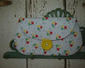 30's Playtime Envelope Clutch Purse