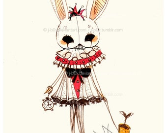 White Rabbit - Print