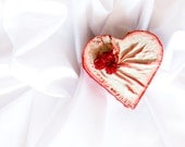 Wedding Box, Red Roses Ring Bearer, Wooden Art Trinket Box, tbteam