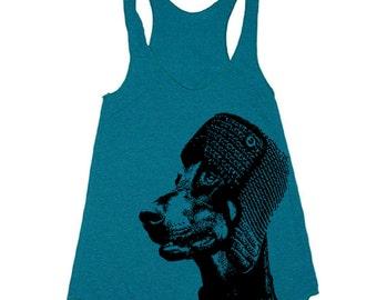 Workout Tank - Doberman TankTop - Workout Clothes For Women - Running Shirt - Run Tank Top - Run Shirt - Gym Tank Top