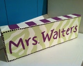 Personalize Name Block
