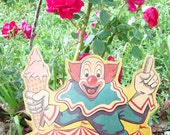 Vintage Bozo Display Board