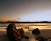 "Landscape photo print of Irish beach in Cork, Ireland - 18""X12"" print size,  unmounted"