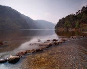 "Ireland Lake Print - Fine Art Print 18"" X 12"" - Glendalough, Wicklow - Irish Photography - Christmas Sale - 20% OFF and FREE Shipping"