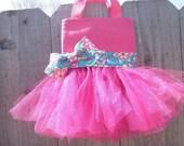 Pretty in Pink tutu purse