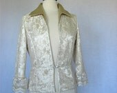 Mother of the Bride or Groom Satin and Lace Jacket Sample Sale
