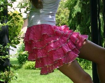 Lace on the beach Custom Bridesmaid or flower girl skirt