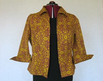 Purple and Yellow Complimentary Colors Jacket