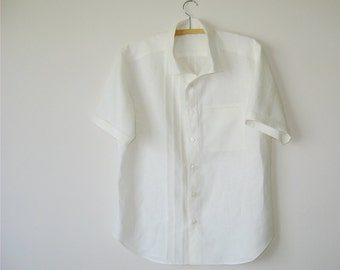 Linen Wedding Shirt Custom Made for You