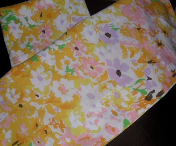Vintage Pillow Cases Fashion Manor by JC Penney Monet Style