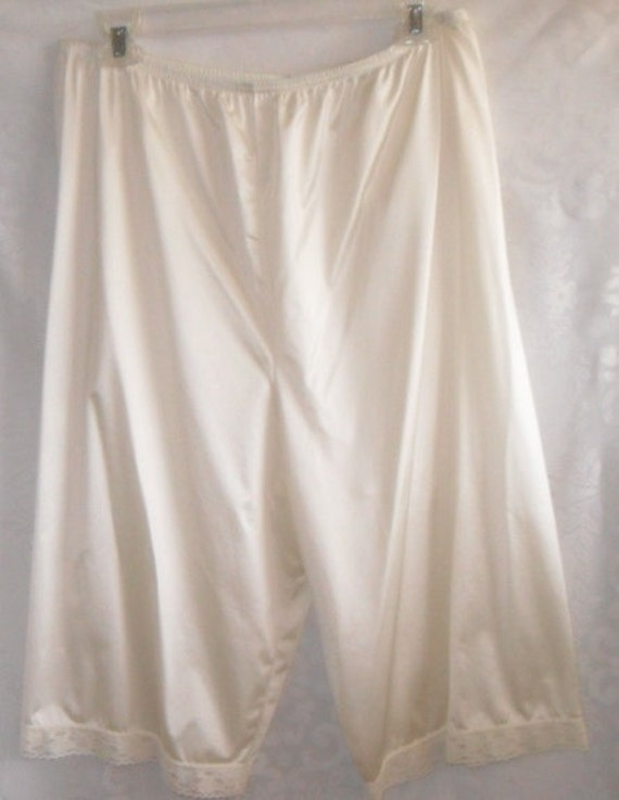 Pettipants Panty Panties Nude Beige Size XLarge Knickers Vintage Vanity Fair