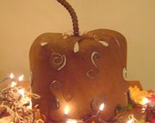 Decorative Pumpkin Centerpiece, Pumpkin Ornament, Candle Holder, thanksgiving