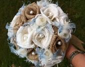 Custom Burlap Bouquet - Large