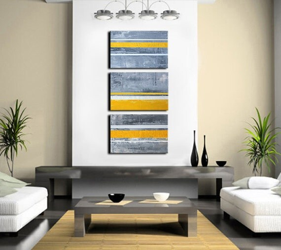 Abstract Yellow Paintings Abstract Art Abstract Painting