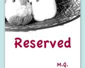 Reserved listing - Crochet Amigurumi mochi toy doll - Teal blue bird MochiQtie - mini size amigurumi