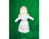 Fairytale Pink and White Princess Soft Toy Doll