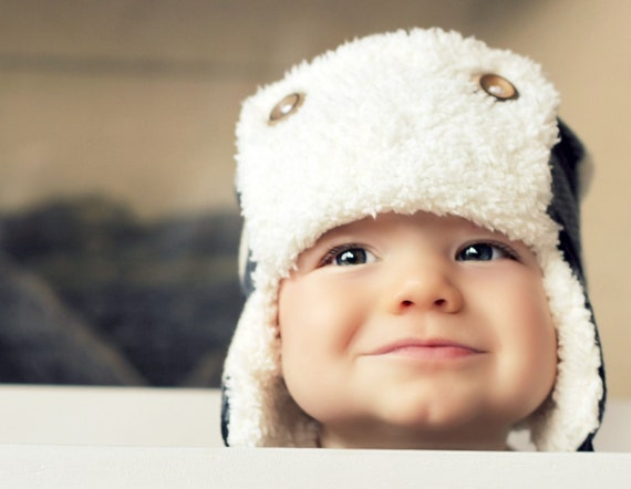 the TRAPPER earflap beanie, multiple sizes available, great photography prop