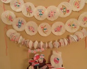 Cupcake Themed Paper Party Supplies