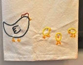 Reserved for Ruthie - chick towels