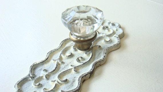 SALE - Vintage Crystal Curtain Tie Back