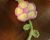Flower Binkey Holder : reserved for Mrs. Seifert