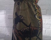 SUPER SALE! Indiana Jones Strapless Boob Tube Pillowcase Dress Ladies - Handmade and Ready to Ship