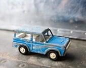 Vintage Tootsie Toy - Blue Bronco