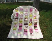 Pink Quilt with Moda Dream Fabric