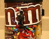 Chocolate M&M chalkbag
