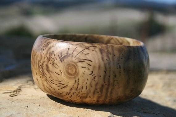 Wood turned bowl, Black Locust Burl, 41/2 x 2 3/8
