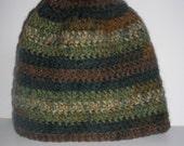 Crochet Beannie -Camo