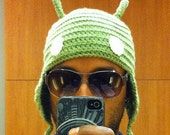 Android Beanie Earflaps (adult)