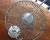 Recycled  Fan Hanging Light
