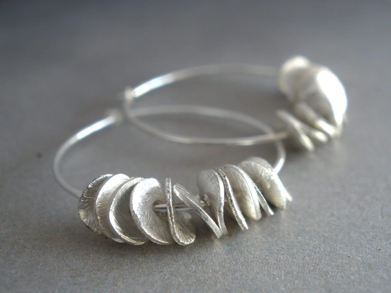 sterling silver hoop earrings small silver hoop earrings. Black Bedroom Furniture Sets. Home Design Ideas