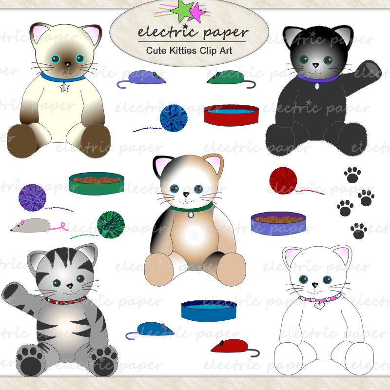 clipart cat toys - photo #19