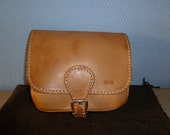 Vintage small saddle leather bag Bree new ON SALE