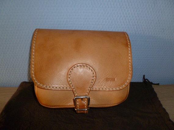 Vintage small saddle leather bag Bree new ON SALE